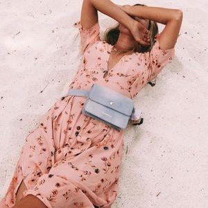 NWT Faithfull The Brand Nina Midi Dress